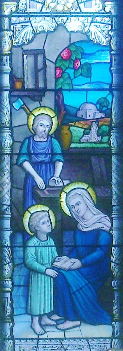 Holy Family Window, Catholic Church, Saddleworth